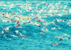 The Start of the La Jolla Roughwater Open Water Swim (Photo Courtesy: Mike Lewis/OlaVistaPhotography.com)