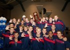 Arizona took 4th at the 2012 Men's NCAA Swimming & Diving Championships (Photo Courtesy: ©Tim Binning/TheSwimPictures.com)