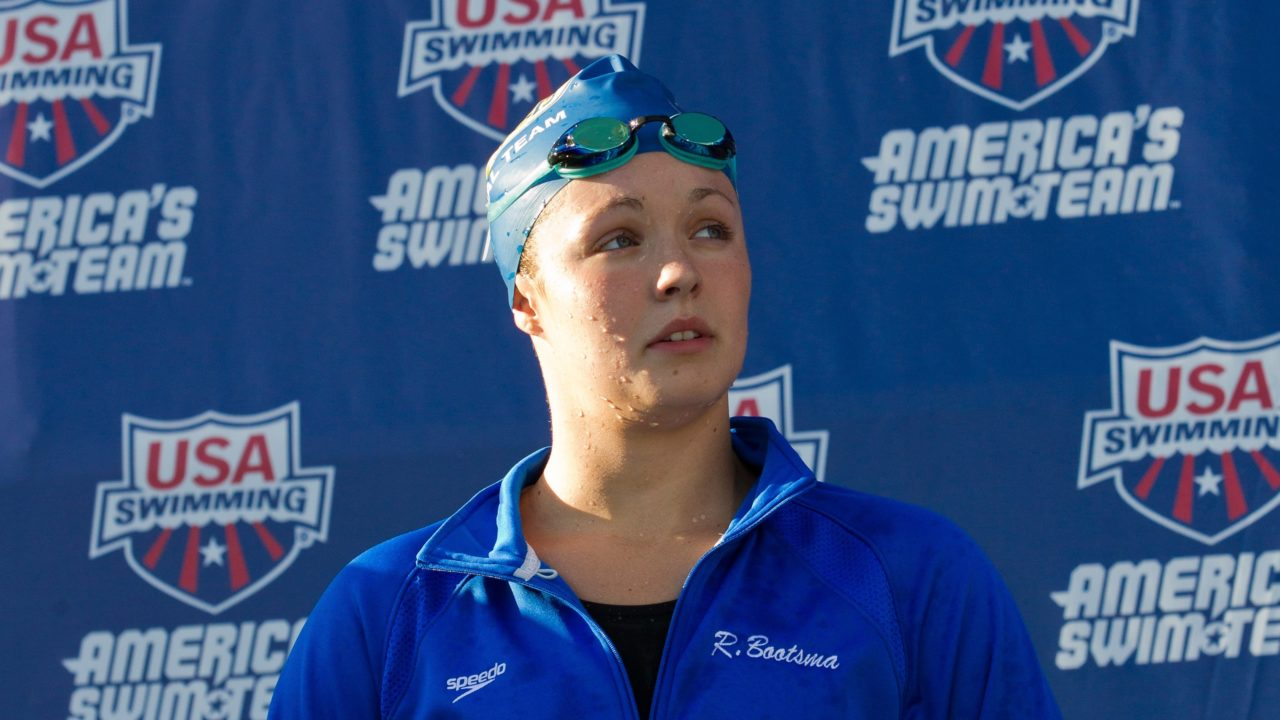 Bootsma Sweeps Prelims on Final Day of NCSA Junior Nationals