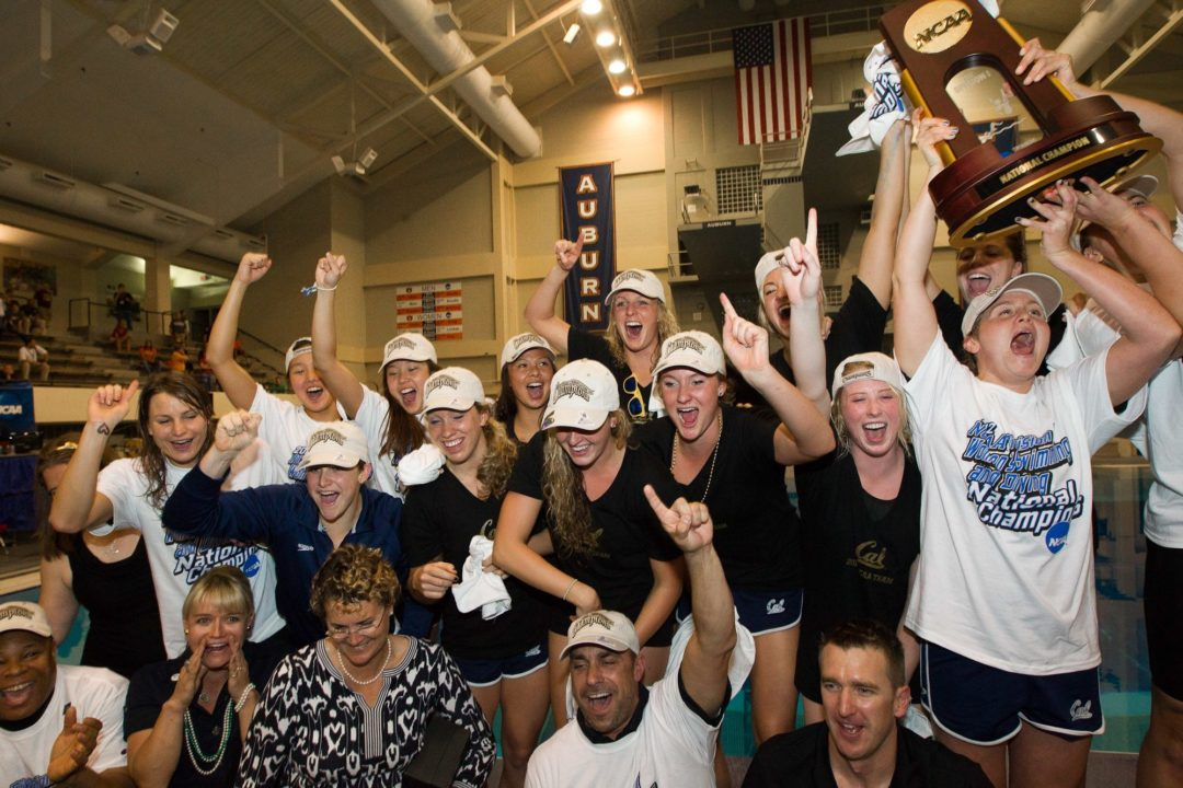 CHAMPS: Cal Women Make it 3 in 4 Years