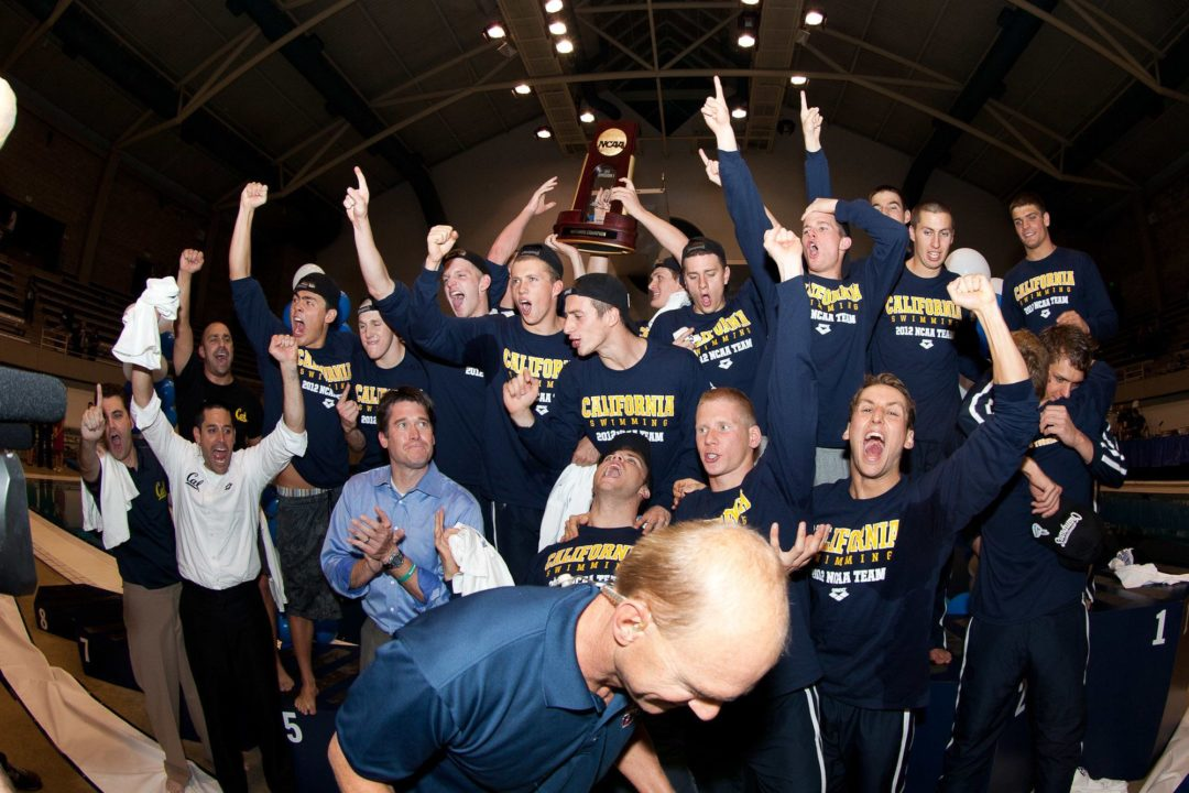 How Did the Cal Men Win the 2012 NCAA Title?