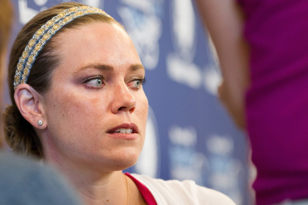 Natalie Coughlin Considering Adding Olympic 100 Fly