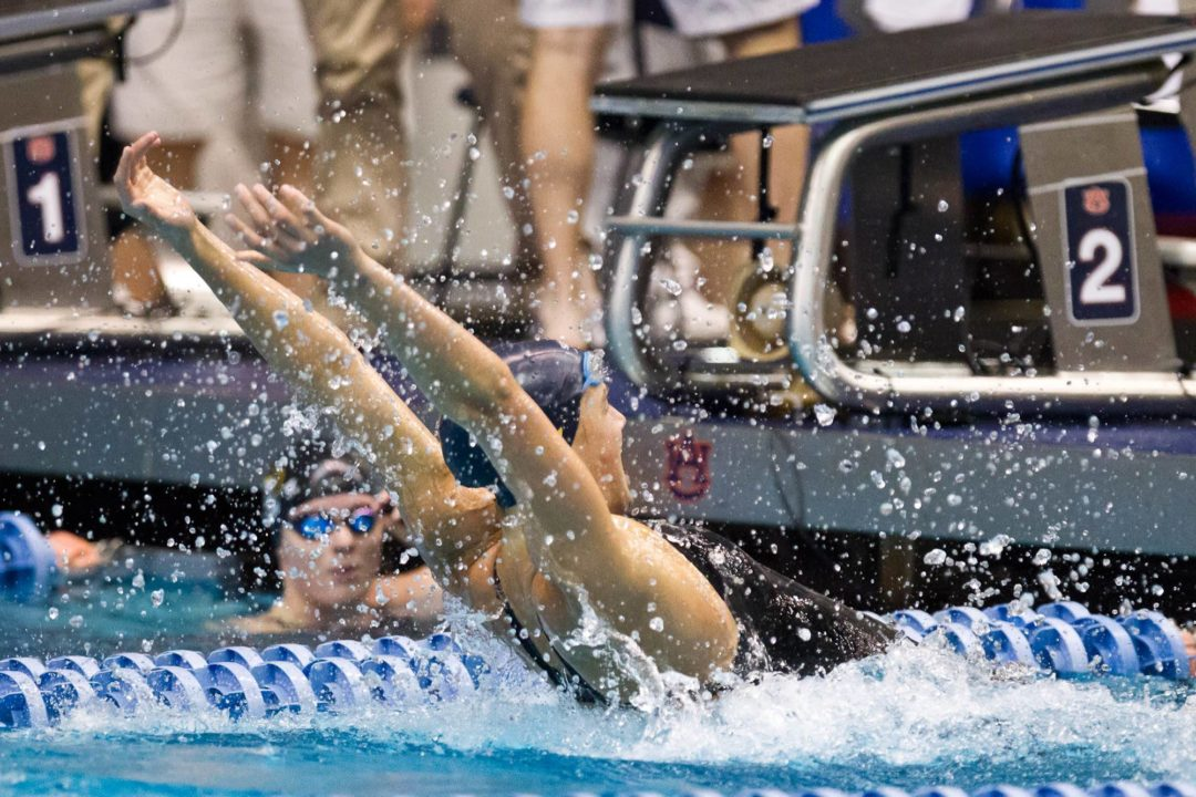 Pair of Cal NCAA Records Highlight Night 1 in Auburn