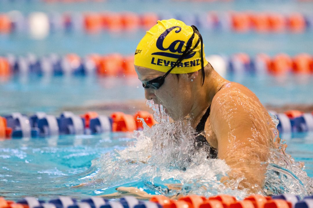Cal's Caitlin Leverenz Wins Honda Swimmer of the Year