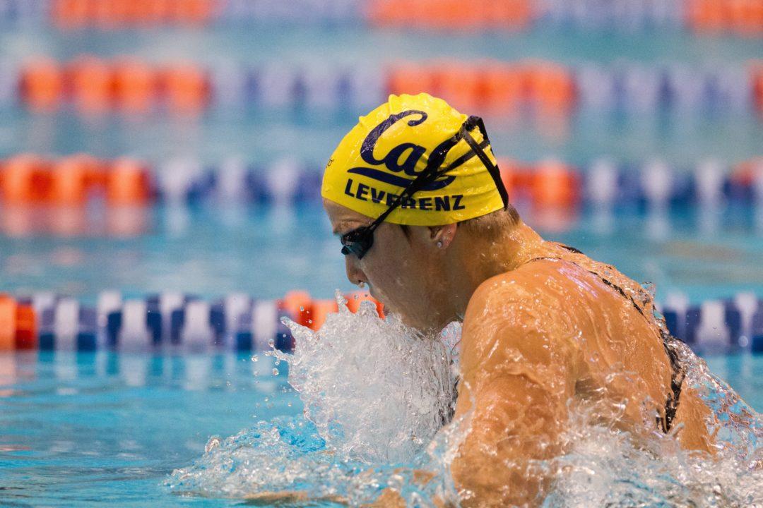 Cal Breaks 200 Medley Relay NCAA Record