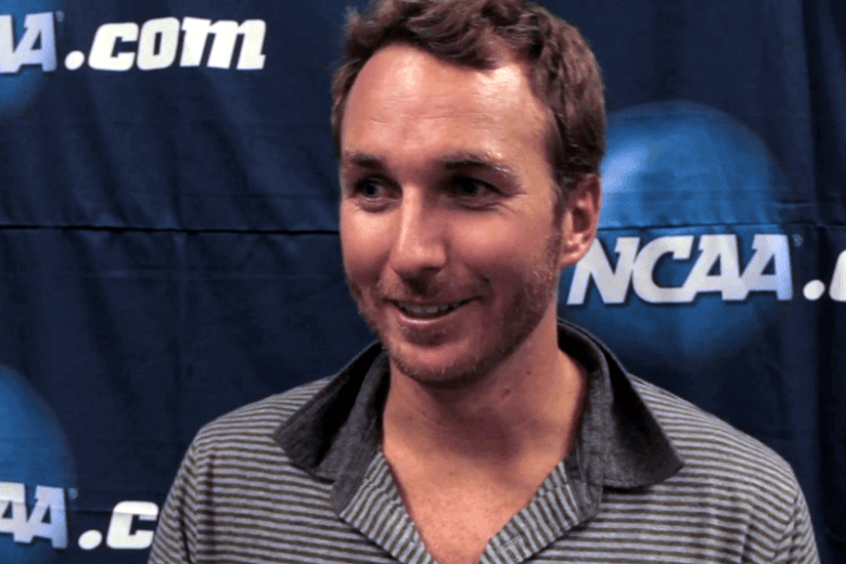 Aaron Peirsol, 7-time Olympic Medalist, at 2012 Men's NCAAs