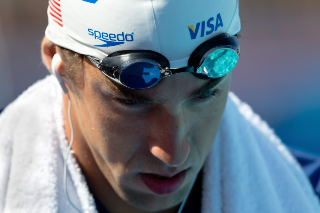 Phelps Turns Back the Clock to 2006