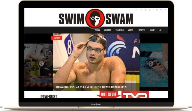 SwimSwam Macbook