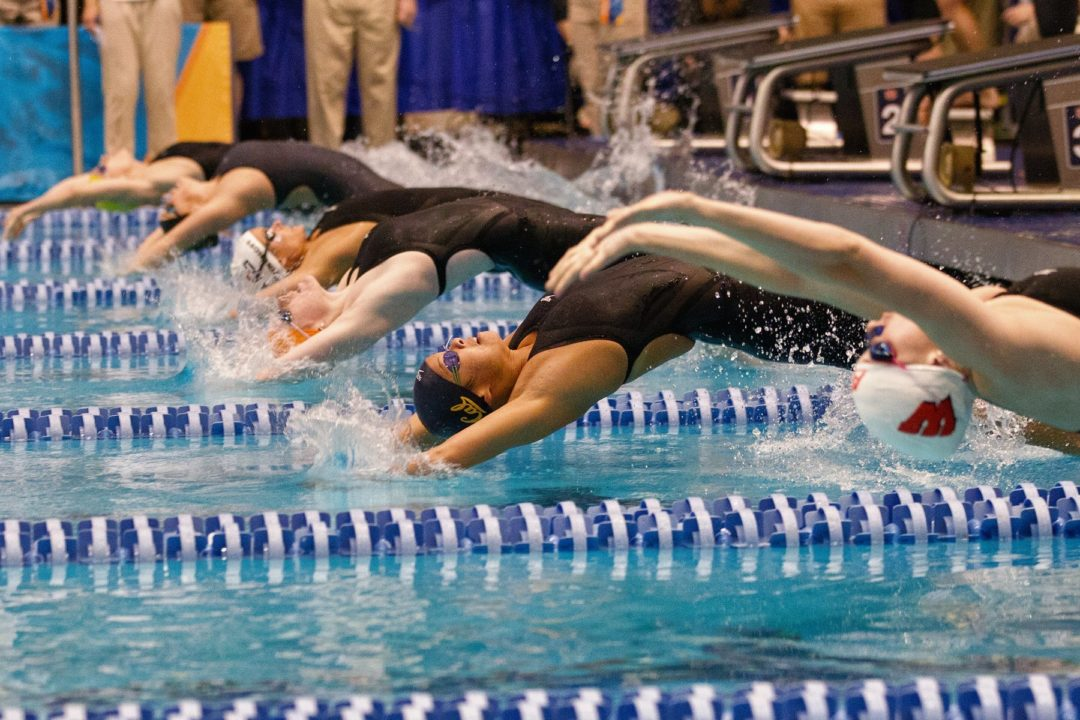 2013 Women's NCAA Championships: Where did these backstrokers come from?