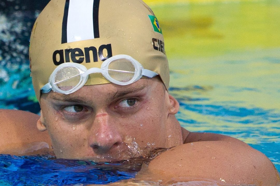 Cielo Skims Textile Best on Maria Lenk Day 2