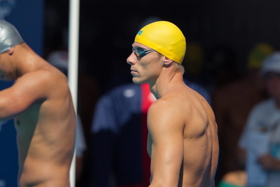 Schoeman Splits Qualifying 50 on Front-Half of 100 in Friday's Front-Half