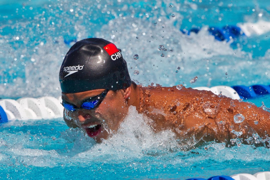Li Xiang Breaks National Record on Day 1 at Chinese Trials