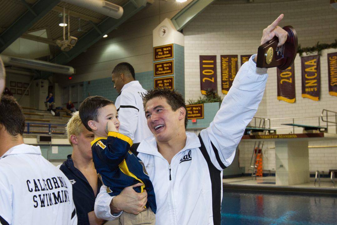 Cal Men Receive 2011 NCAA Championship Rings