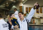Nathan Adrian after the 2011 NCAA Championships