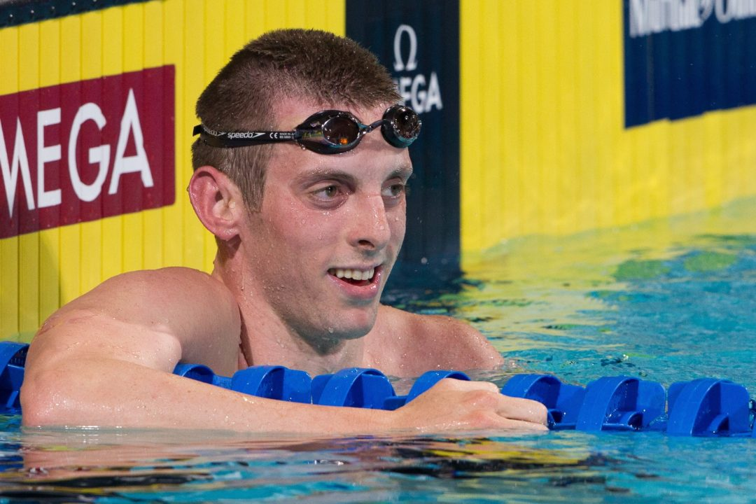Ryan Cochrane swims world best while Noemie Thomas breaks 50 butterfly national record