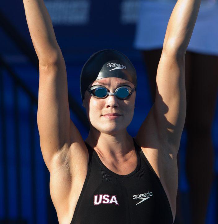 Natalie Coughlin Going for 60th International Medal