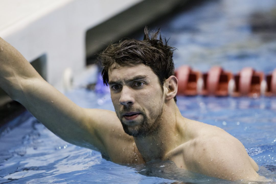 Is Phelps Happy about his UltraSwim Schedule?