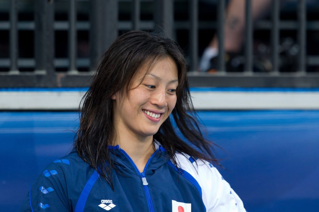 Terakawa Goes 4th-Ranked Time in World in 200 Back at Japan Open