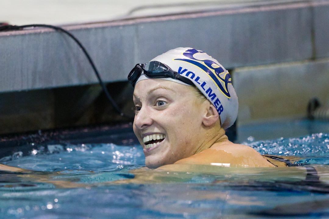 Vollmer, 50 & 100 Fly Ultraswim Winner
