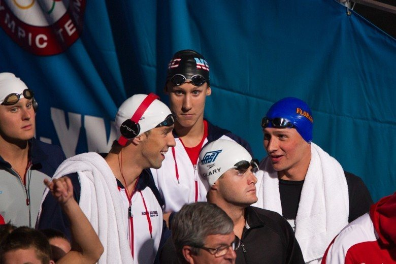 Tuesday Prelims Heat Sheets: Clary Scratches 200 Free