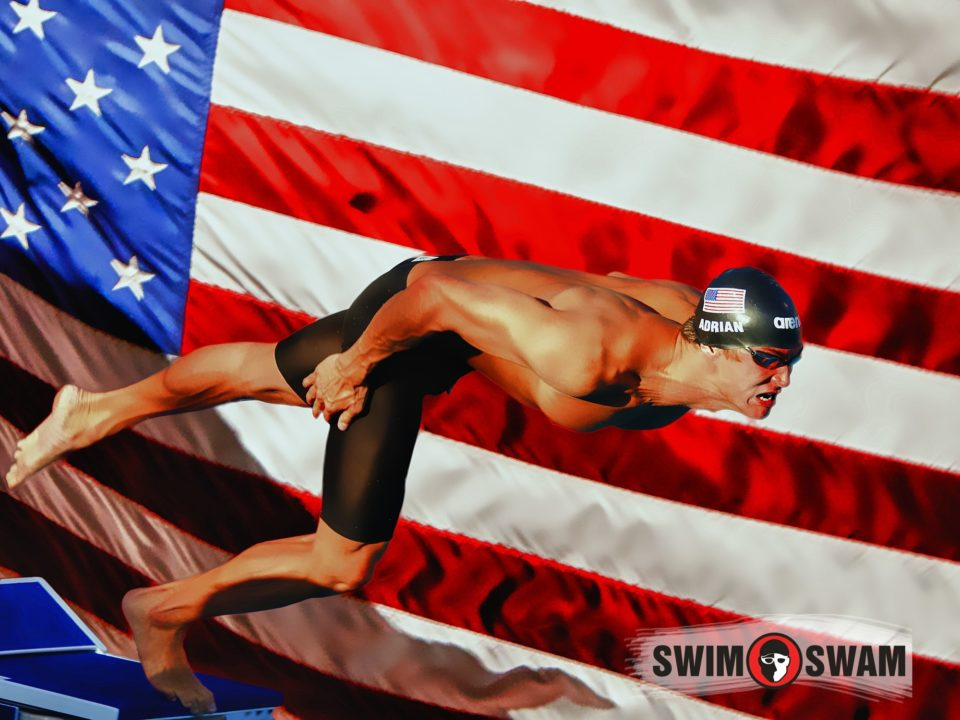 Picks: Adrian Favored in 100, But Will Phelps Swim Finals?