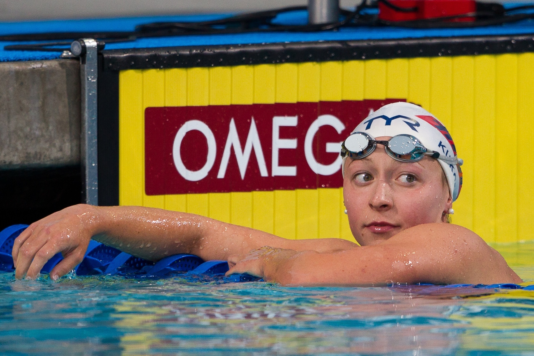 World swimming champion says she was abused by US Olympic coach