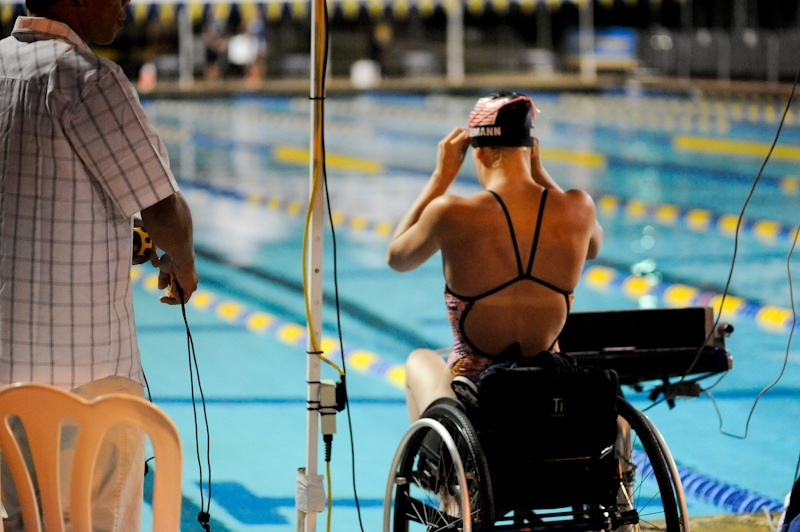 10 Things You Only See at a Para Swim Meet