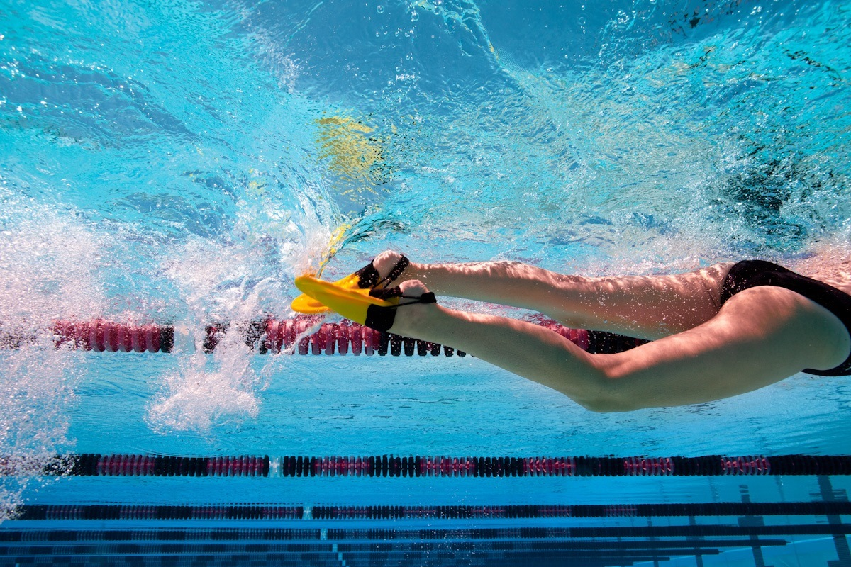 Swim Training Build Im Endurance With Fins