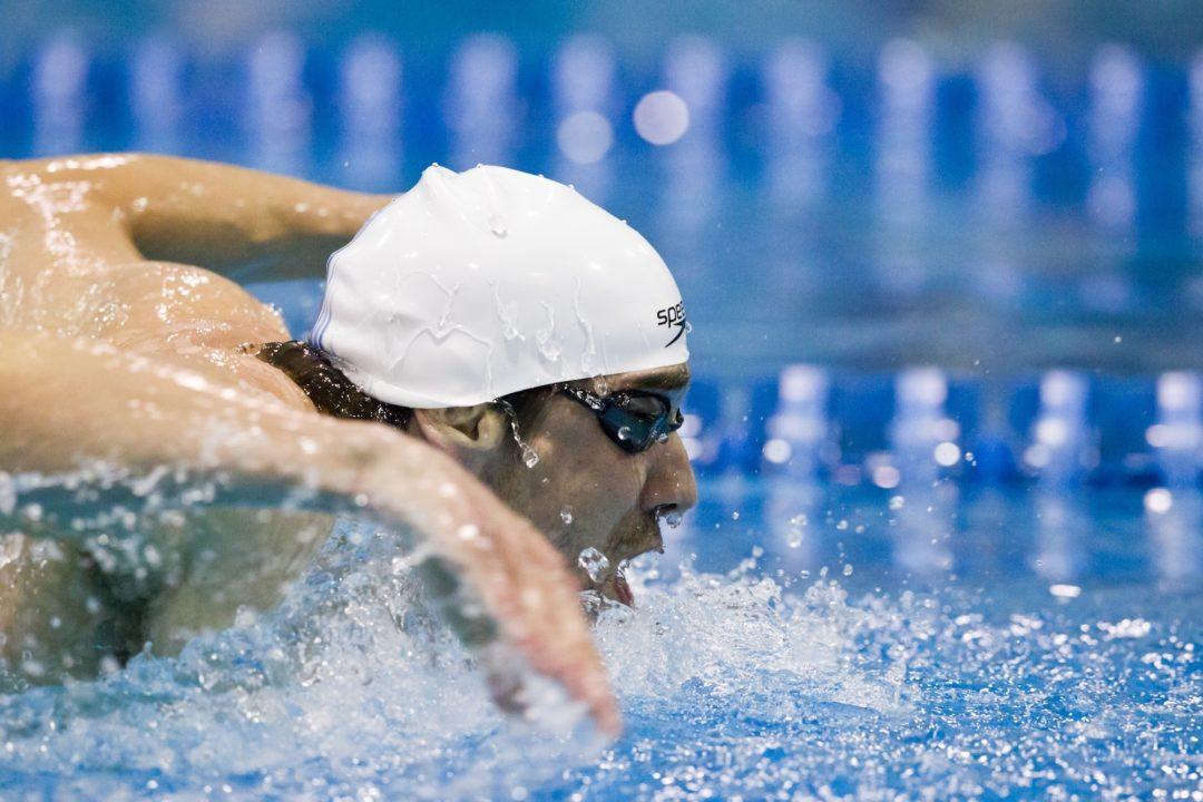 Phelps Breaks Pool Record in Nostalgic Career-Ender