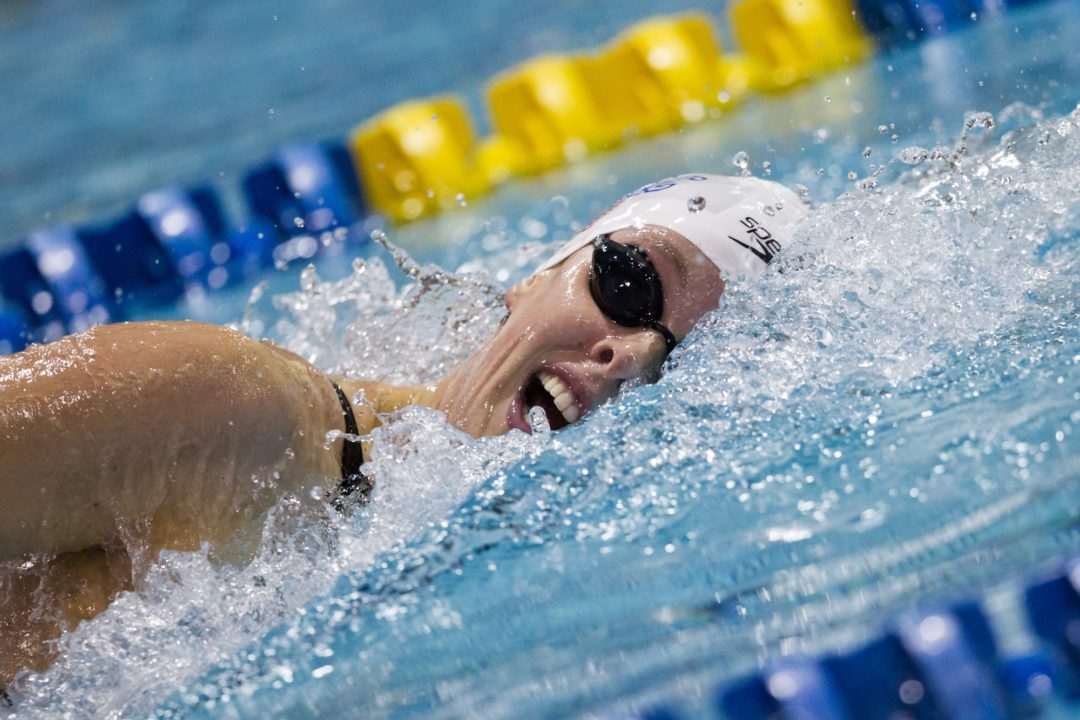 Allison Schmitt Breaks U.S. Open Record in 200 Free at Longhorn Elite Invite