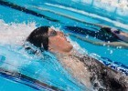 100 backstroke, 2012 Olympic Trials. Photo Credit: Tim Binning