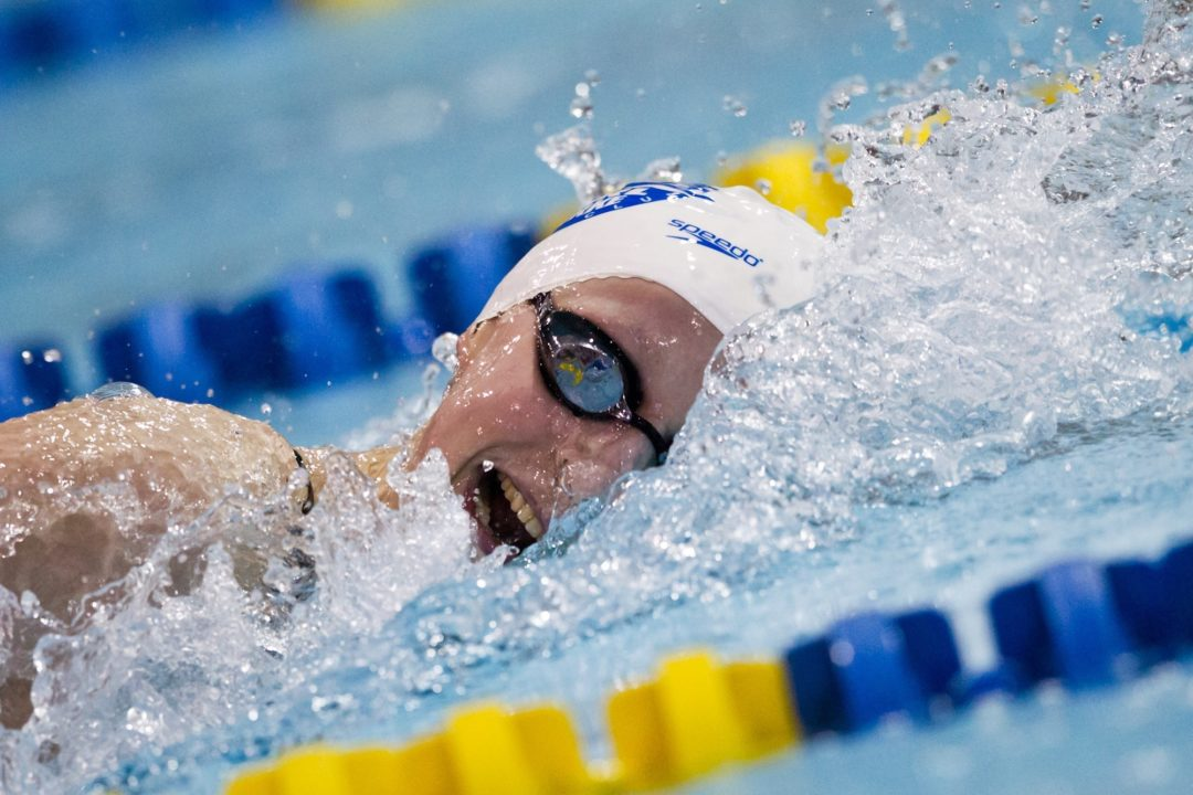 Katie Ledecky Qualifies for London 2012 at Age 15