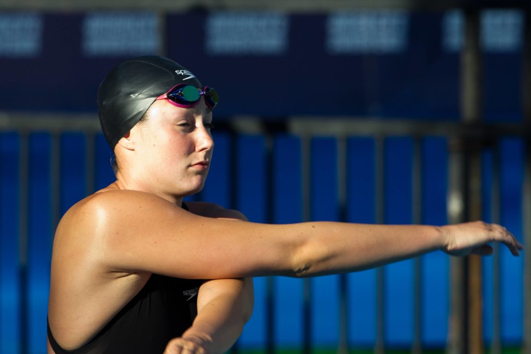 Christine Magnuson's Still Got it at Day 2 Prelims from Winter Nats