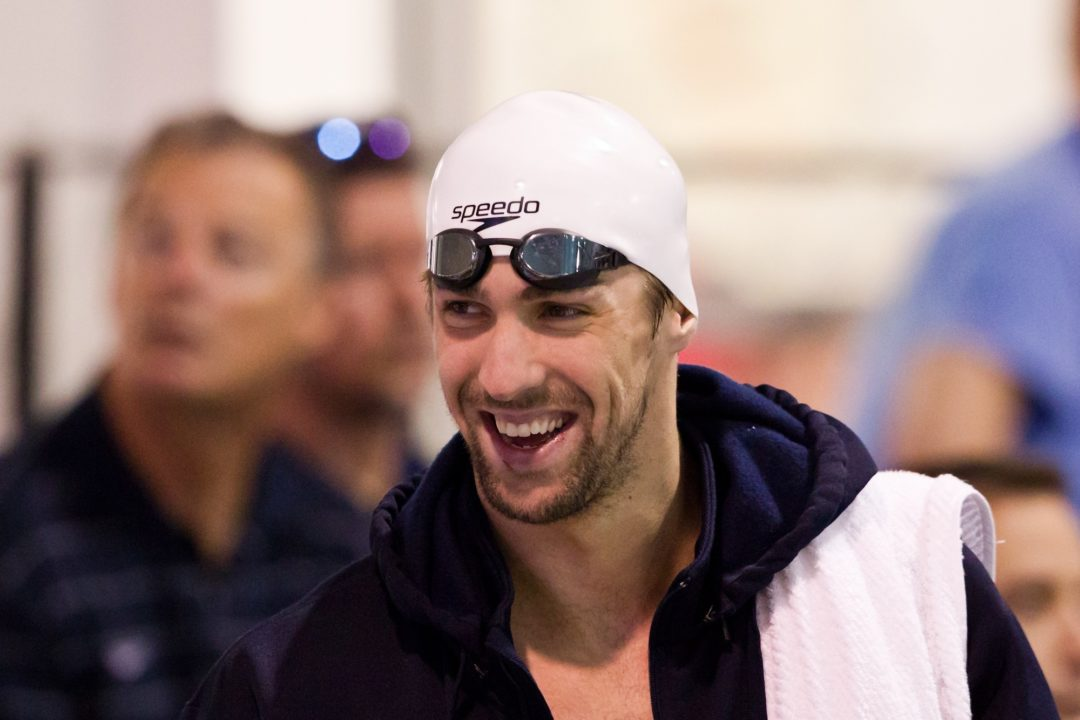 Foster Breaks Legendary Michael Phelps NAG Record