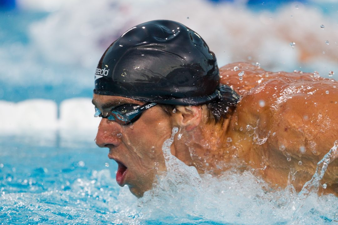 Phelps' legacy on the line in London