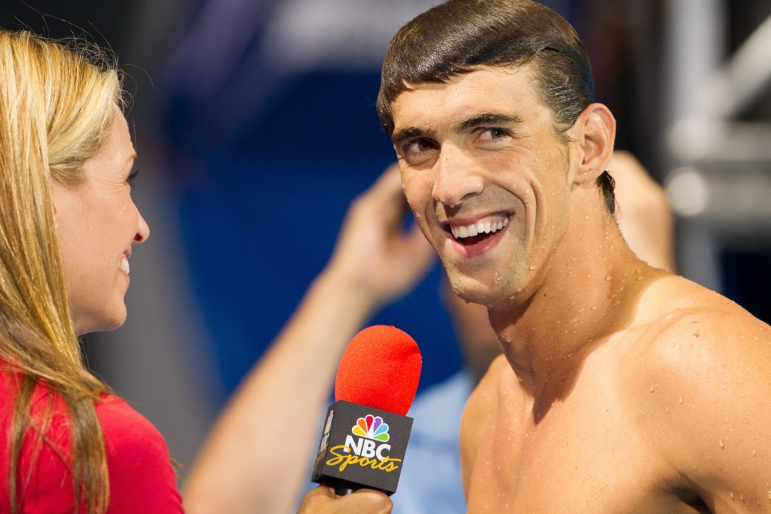 Phelps Named AP Male Athlete of the Year