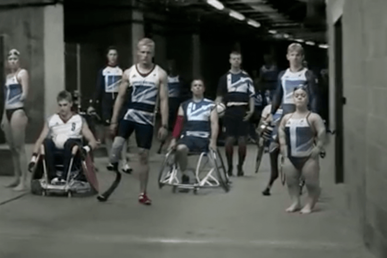 Paralympians meet the Super-Humans