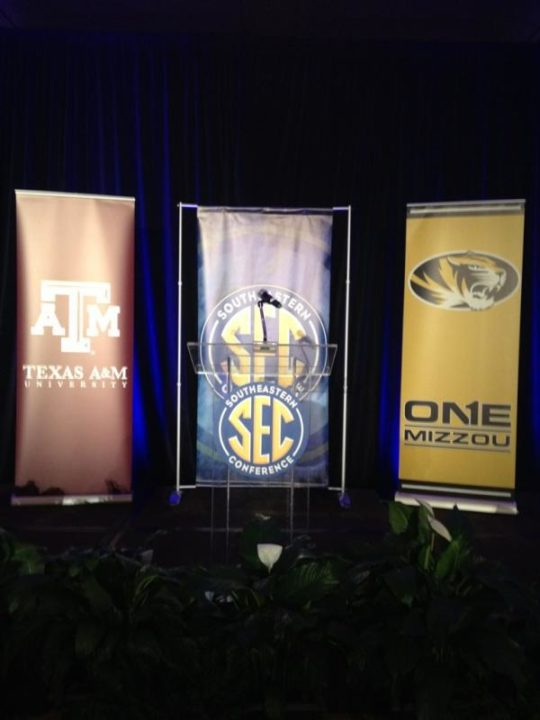 Texas A&M, Missouri Officially Fly Flags of SEC Today