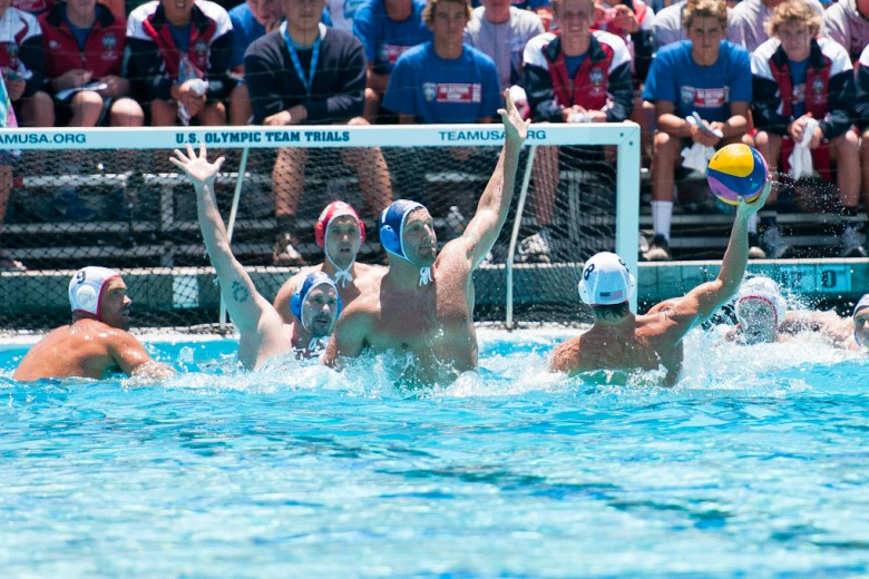 American Men Win Nailbiter Over Montenegro in Men's WP