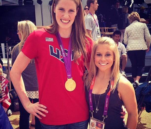 Swimmers vs. Gymnasts: Missy Franklin & Shawn Johnson