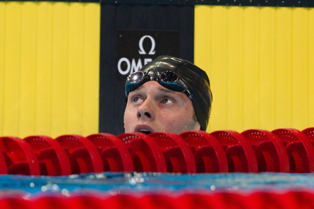 Conger Downs 200 Back Meet Record at Jr. Pan Pacs Saturday Night