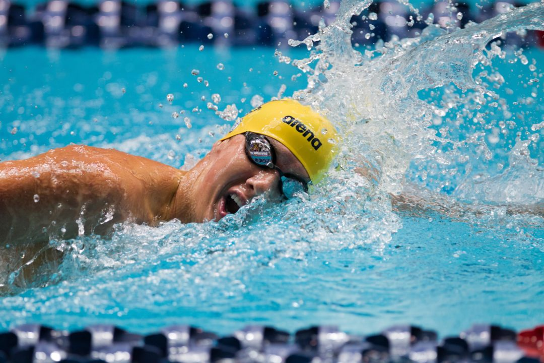Cal's Adam Hinshaw Drops 5 Seconds for Silver in U.S. Open 200 IM