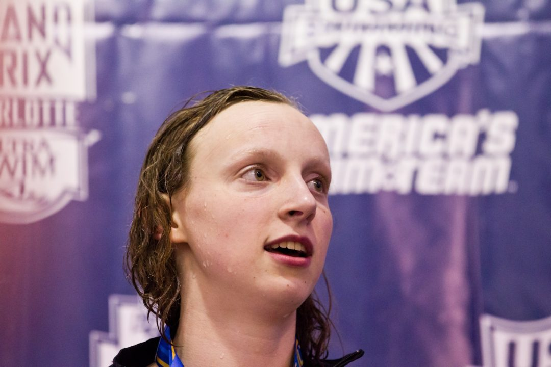 Katie Ledecky's Coach Yuri Suguiyama Named PVS Coach of the Year