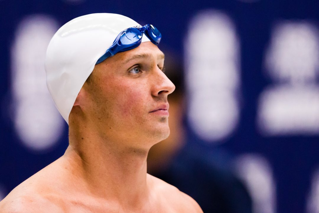 Ryan Lochte Handles Double Easily Through Preliminary Rounds