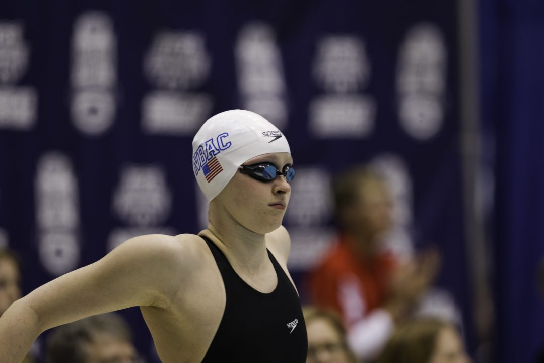 Ryan, Runge Take 1-2 in 100 Freestyle at Junior Nationals Day 2