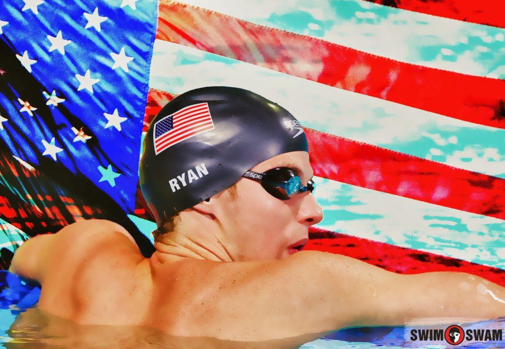 Sean Ryan Wins 1500 freestyle, Breaks 15 min Barrier at WUG