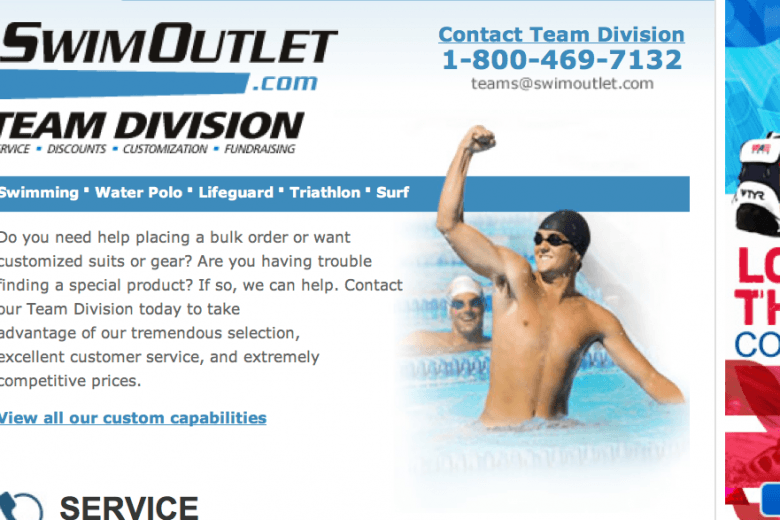 SwimOutlet Team Division – Sign up!