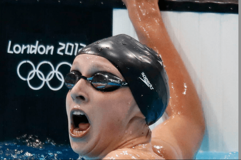 Katie Ledecky wins in Olympic Debut, Breaks Evans Record