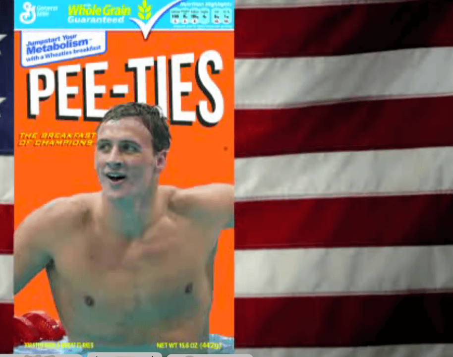 Ryan Lochte, Funny or Die, Pee in Pool