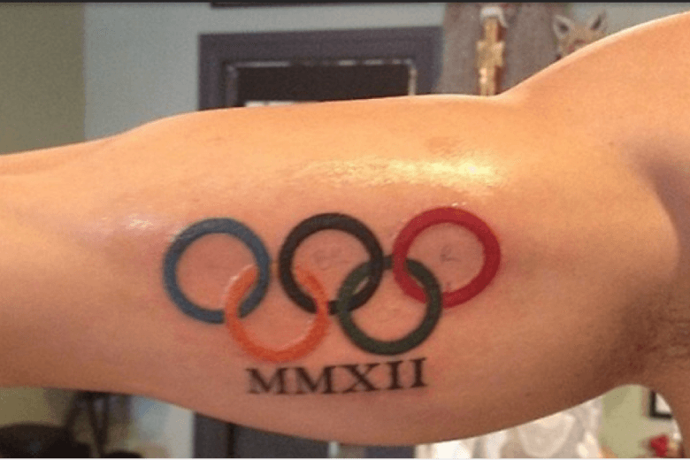 Photos of 2012 Olympic Swimmers' Tattoos are all here
